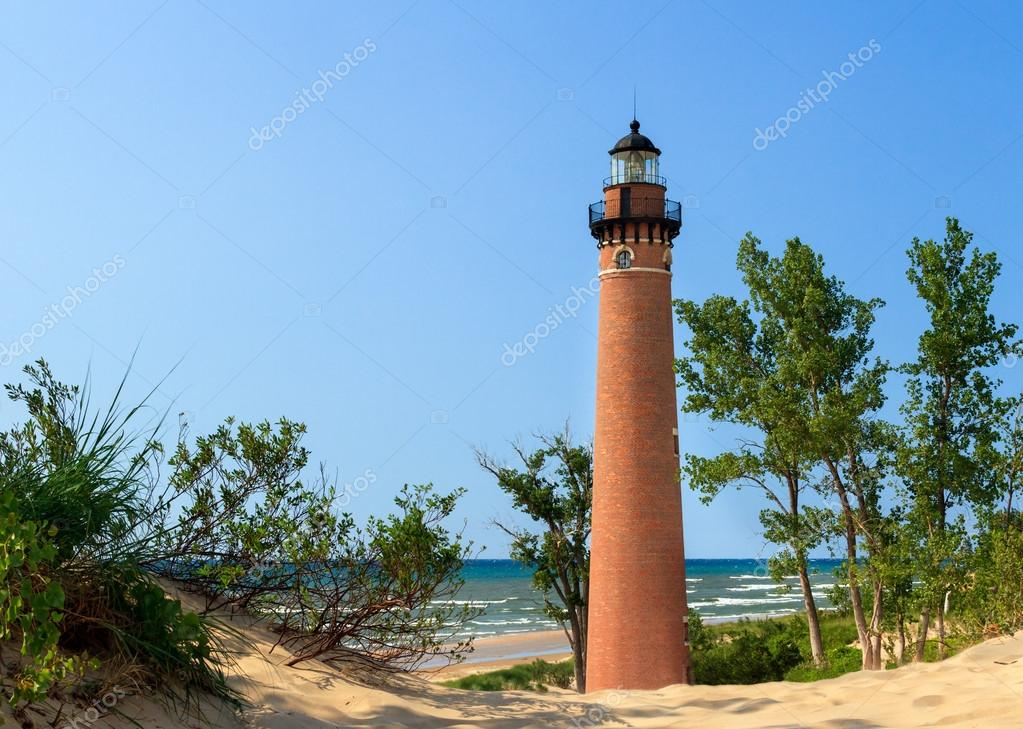 Lighthouse at Little Sable Point