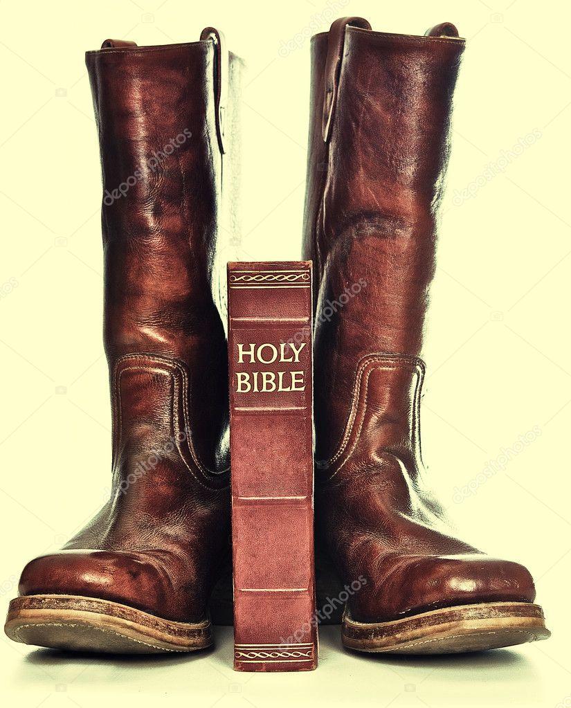 Rugged Cowboy Boots Home Decor