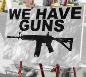 Fotografie kontrola zbraní koncept obrázek