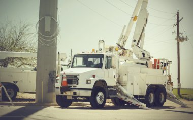 Repairing power electricity grid system after storm