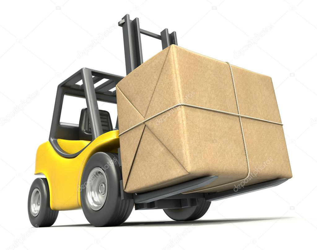 Forklift with post package