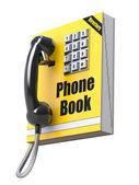Fotografia concetto di rubrica telefonica