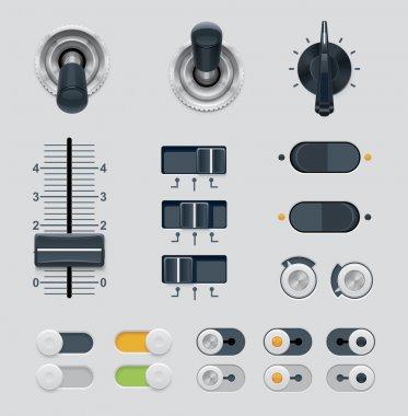 UI dials set