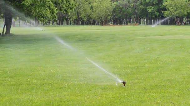 zavlažovač vody v parku