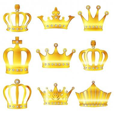 Crown crown diadem