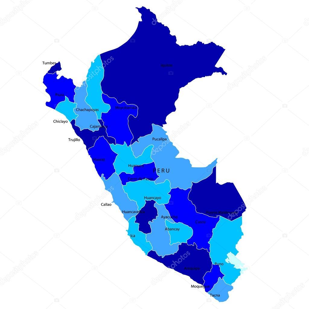 Huancayo Peru Map.Peru Map Stock Vector C Jboy24 26688305