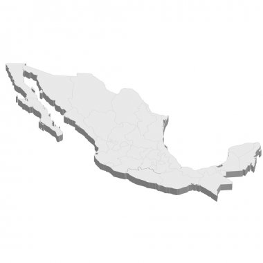 Mexico map country