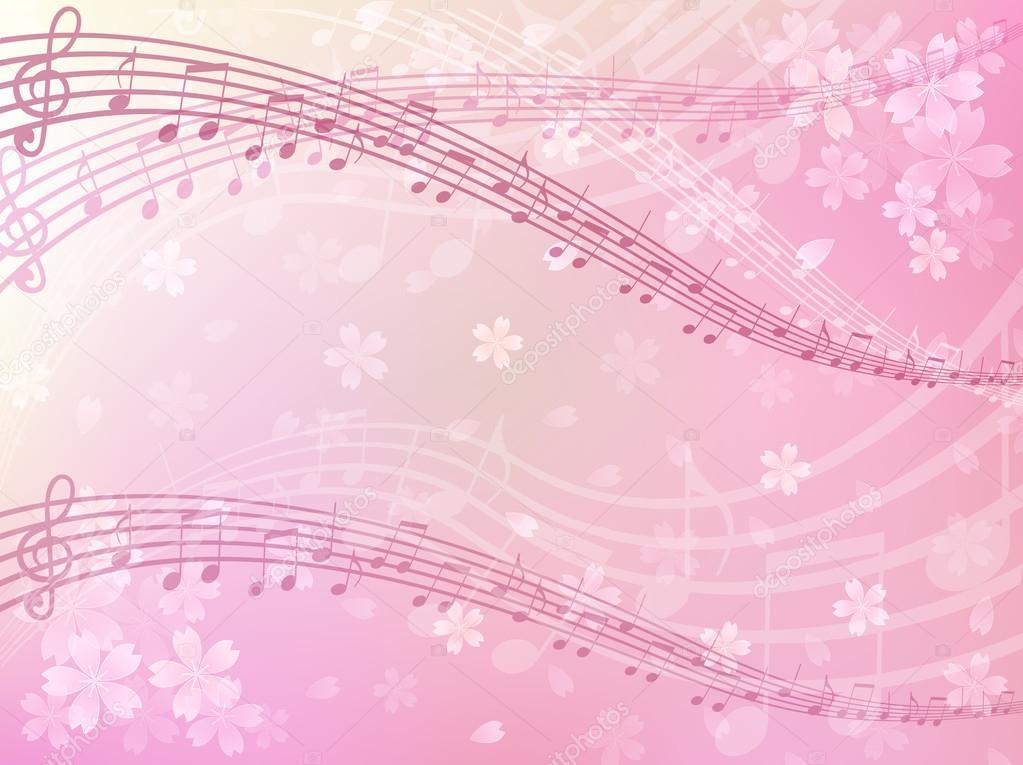Sakura music background