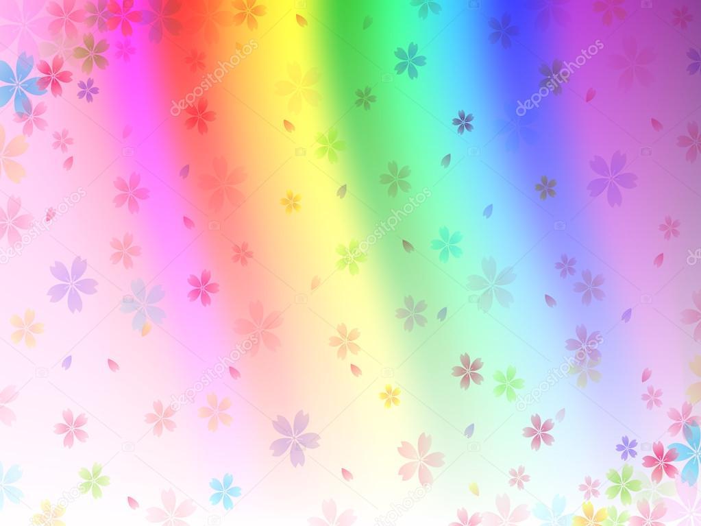 Радужный цветной фон hd  pic2me