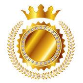 Fotografia medaglia di corona di alloro