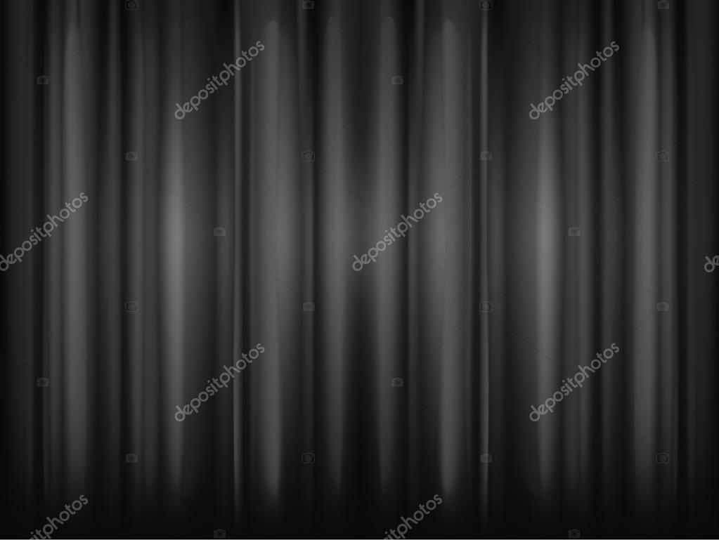 fond de rideau de soie image vectorielle 41724213