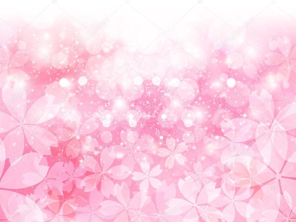 Cherry Spring background