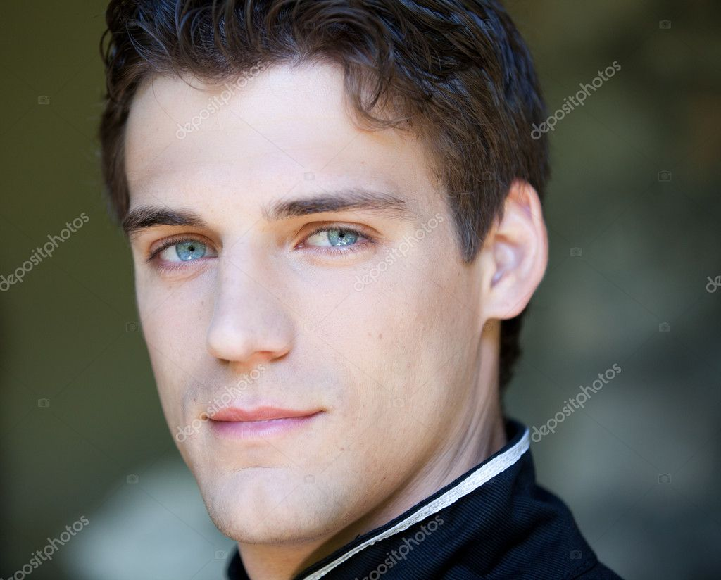 Gorgeous Man with dreamy eyes