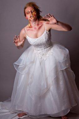 Woman as a Zombie Bride