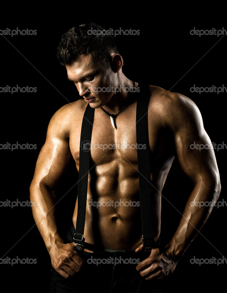 Мускулистые сексуальные парни