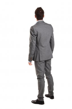 Full length businessman portrait