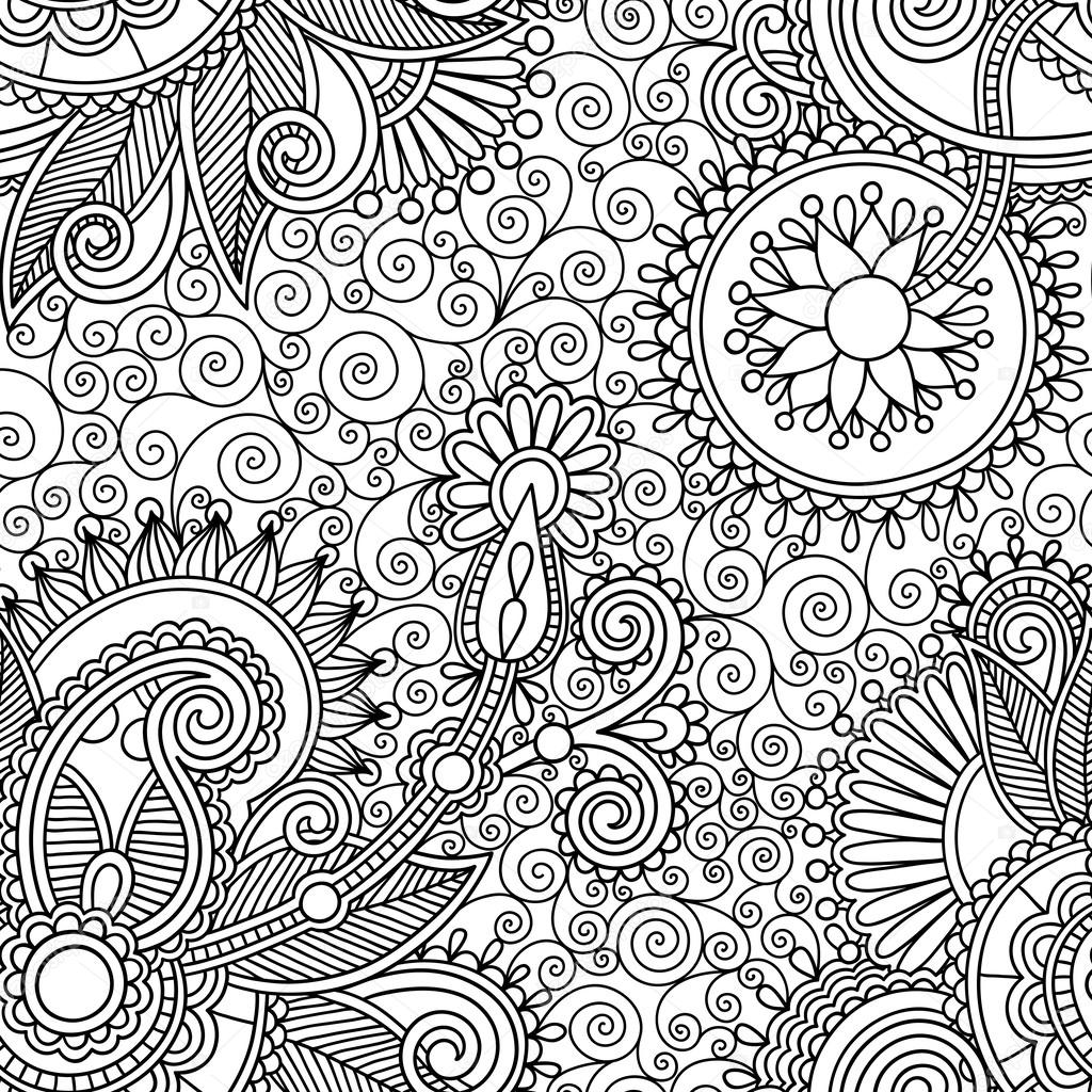 pattern black n white