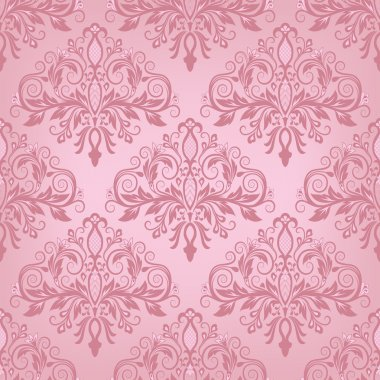 Damask seamless pattern for design. Vector Illustration stock vector