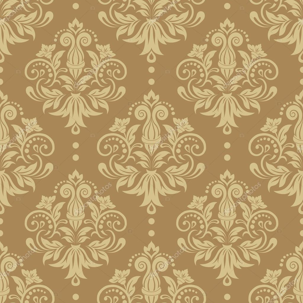 Seamless victorian wallpaper texture - Papel pared vintage ...