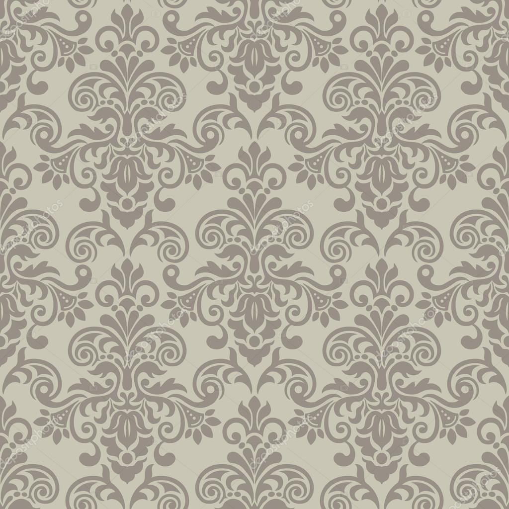 patrones vintage sin fisuras en gris — Vector de stock © Katia25 ...