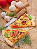 Fotografia fette di pizza