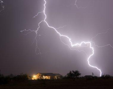 A Bolt of Lightning in a Neighborhood