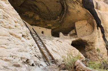 A Cave 4 Scene at the Gila Cliff Dwellings
