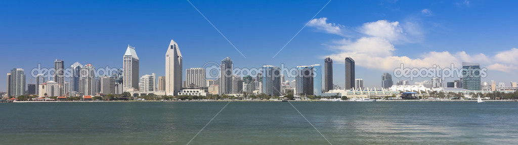 A View Of San Diego Bay And Downtown On Sunny Day Photo By Neilld