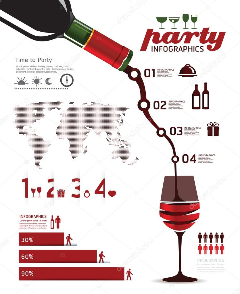 Information party Graphics vector