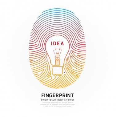 Fingerprint lightbulb