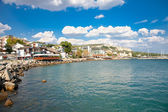 Fotografie The town of Balchik in Bulgaria.