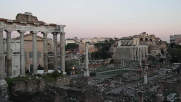 Römische Ruinen in Rom