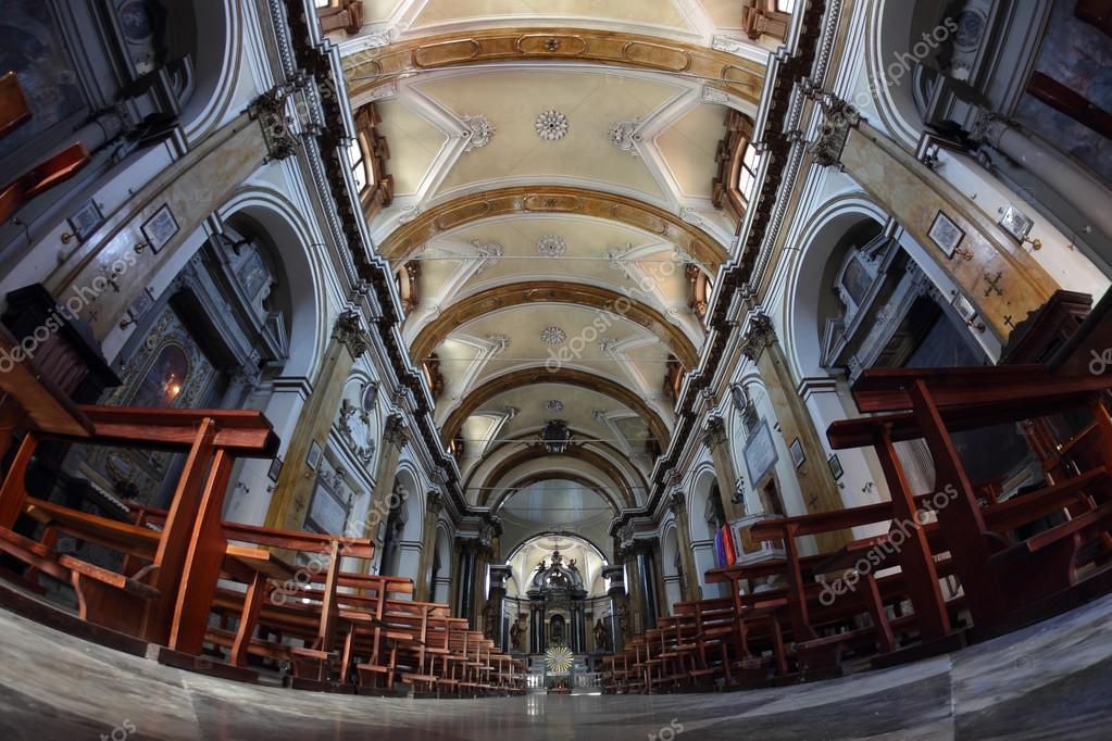 Chiesa di santa maria dei servi, sansepolcro, Włochy - Zdjęcie stockowe editorial © marcovarro ...