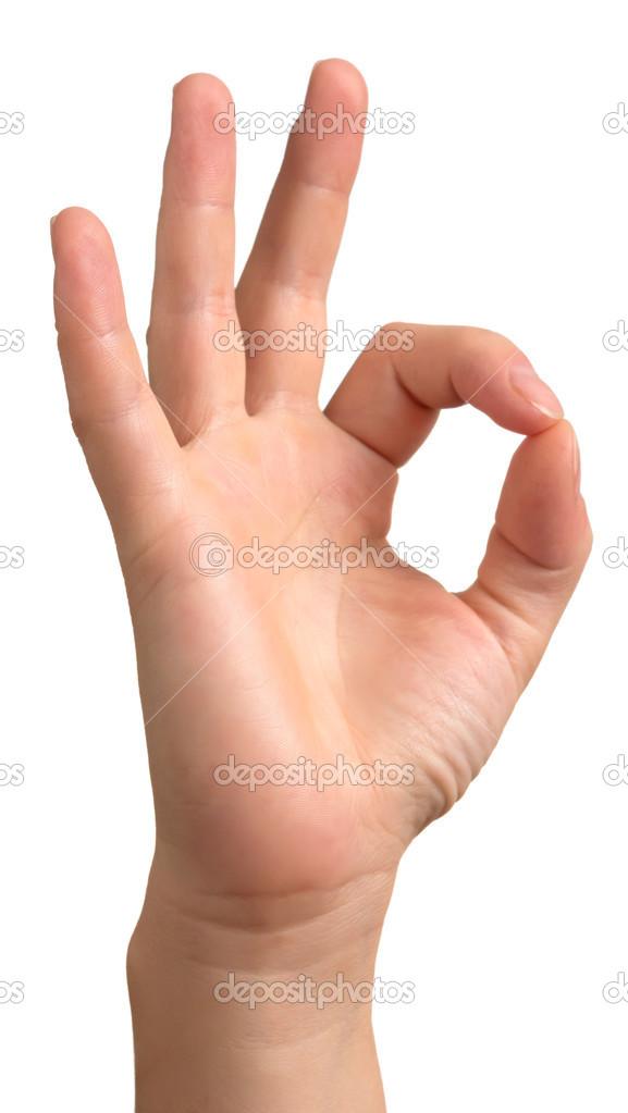 ok hand sign isolated stock photo jainaproudmoore 33529573