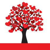 Fotografia albero astratto cuore