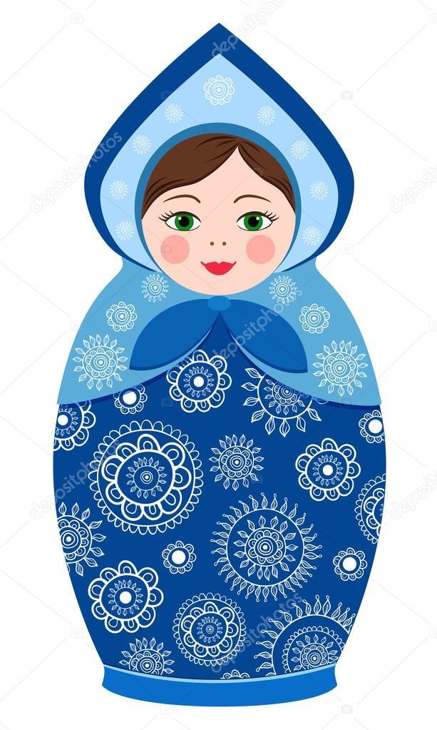 Russian tradition matryoshka dolls