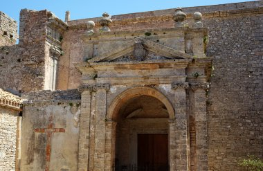 Medieval Catholic Church. Erice, Sicily