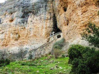Rock Monastery, Korinthos, Greece