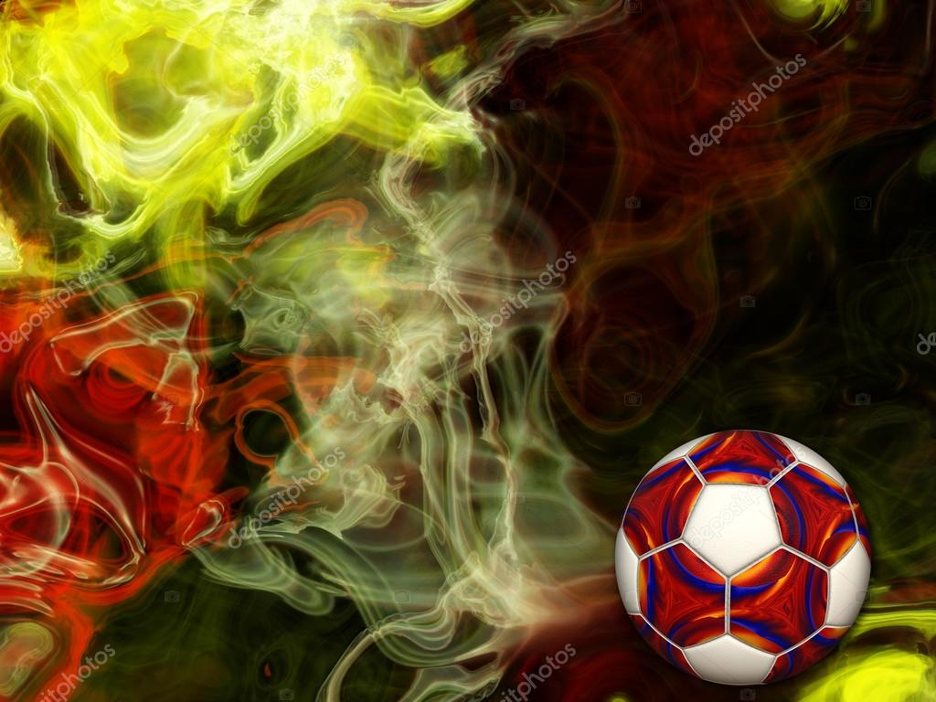 abstrakte Fußball-Farben — Stockfoto © ankarb #43632727