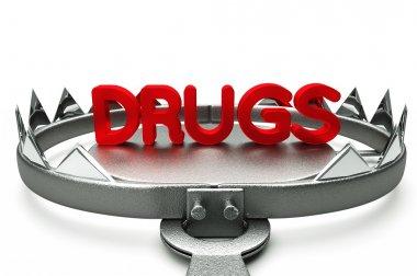 Drugs 3D Render
