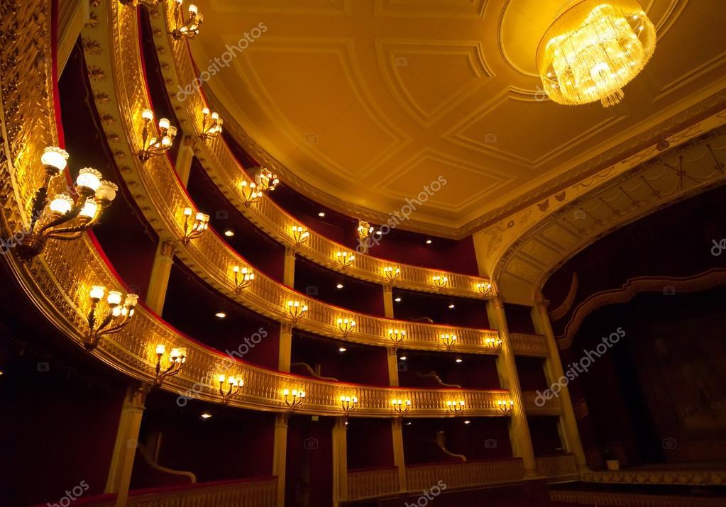 Concert Hall Opera stock vector