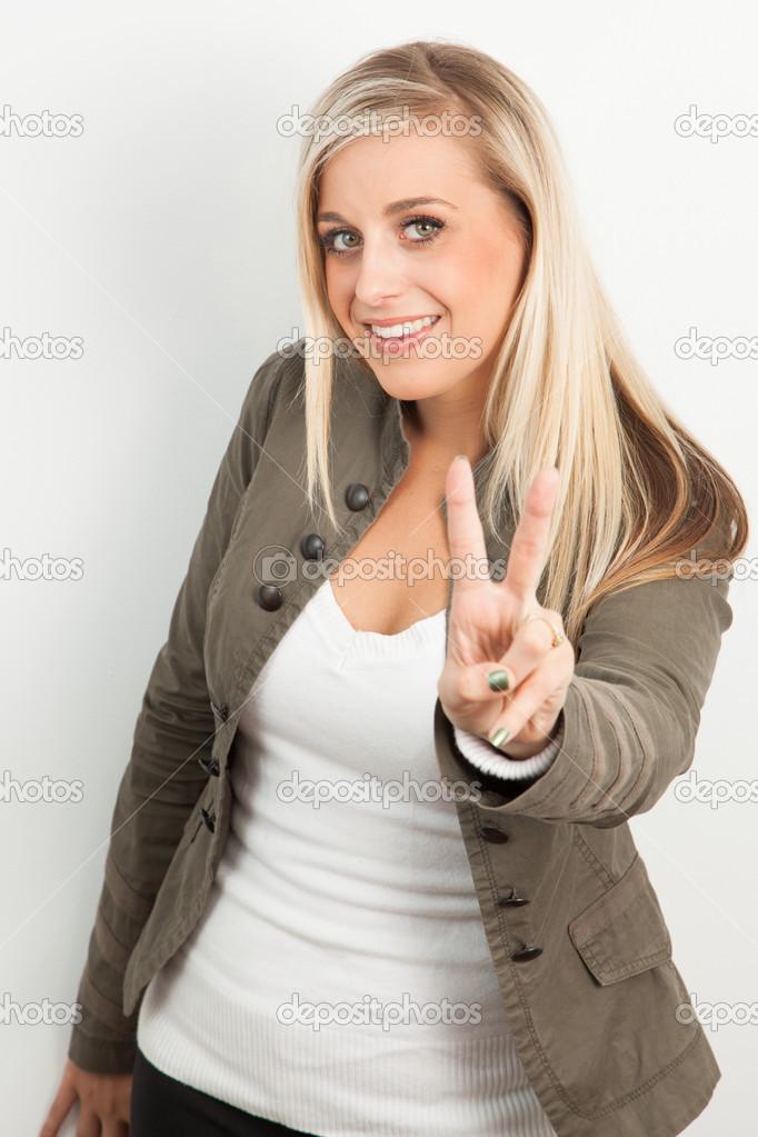 Blonde Junge Frauen