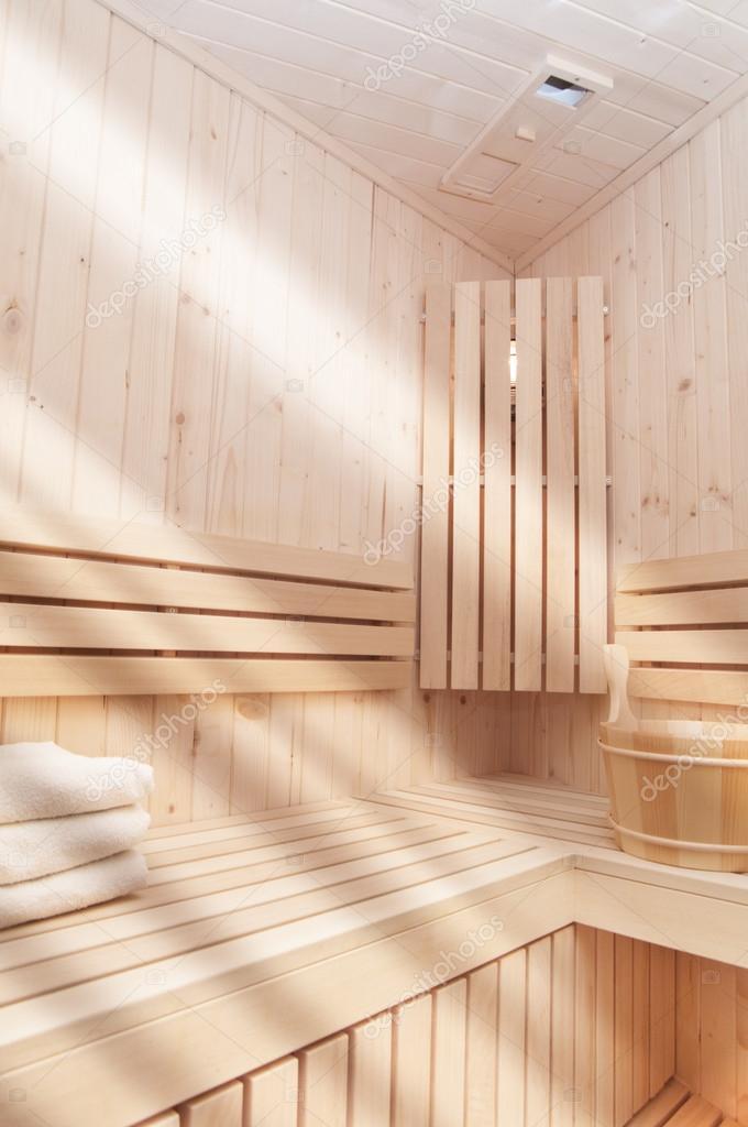 Imágenes: saunas a vapor | sauna de vapor — Foto de stock © lusia83 ...