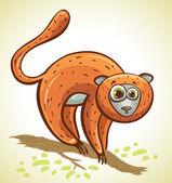 Cartoon lemur.