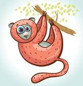 Fotografie Cartoon lemur.