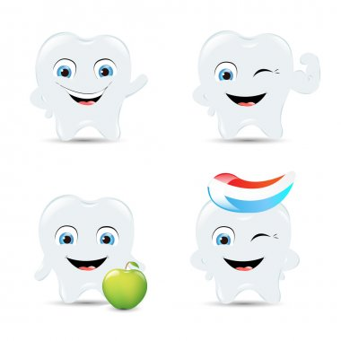 Tooth Icons Set