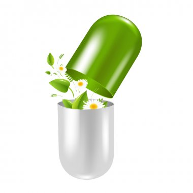 Pill With Herbs And Camomile