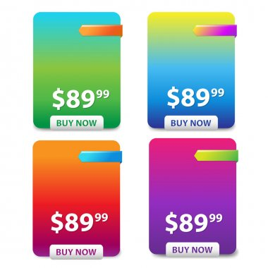 Color Price Table