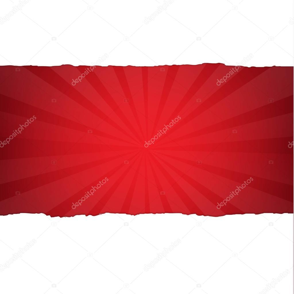 Vintage Dark Red Sunburst Background