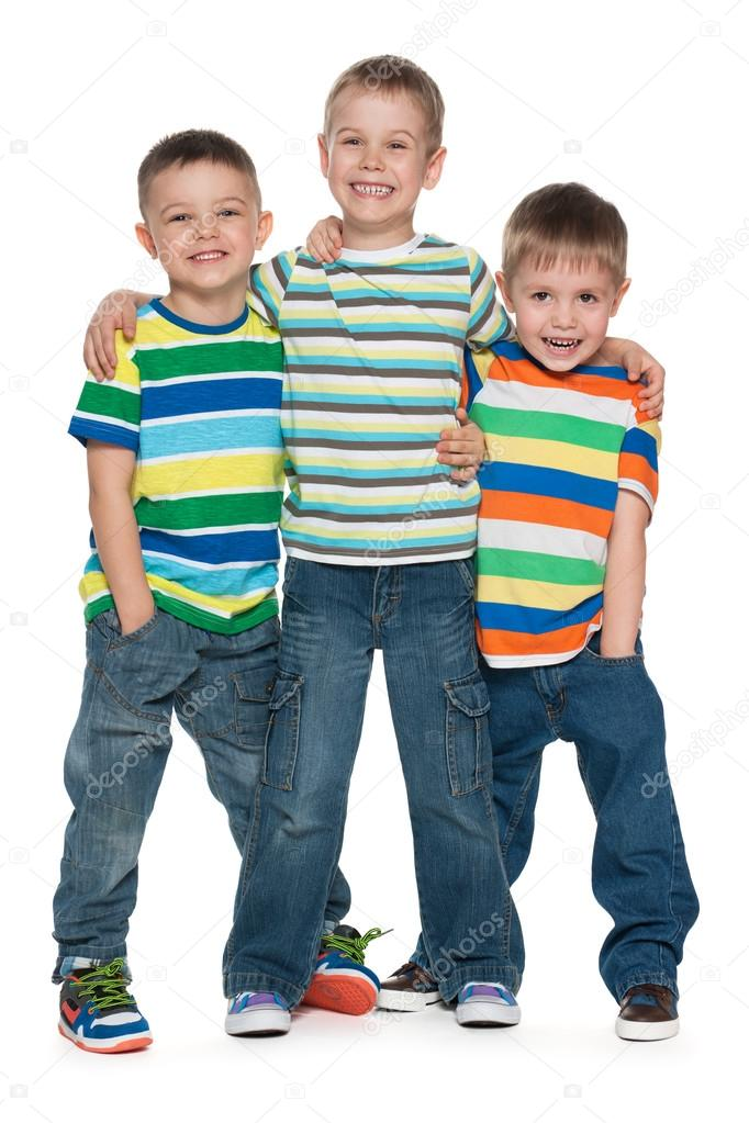 Image result for three little boys